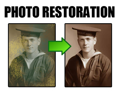 Restore Old Photos in Burnley