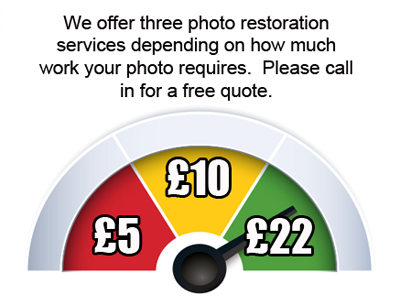 Photo Restoration in Burnley